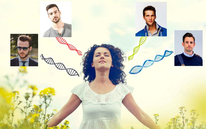 Женщина сохраняет ДНК от всех партнеров?